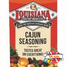 Bột cajun seasoning